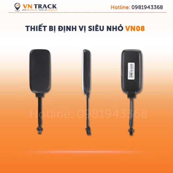 Thiet bi dinh vi xe may dinh vi o to vn08 vntrack